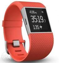 Fitbit Surge Tangerine Super Watch - Large