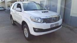 Toyota Fortuner 3.0D4D 4x2 AT