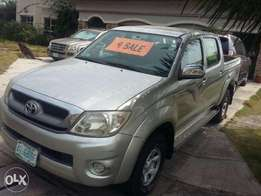neatly used by a German expatriate, toyota hilux 2010 model 6.8m