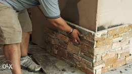 We install CLADDING STONES / TILE with a convenient price!