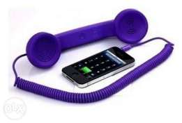 Coco purple phone handset