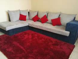 Best offer on 6seater L couch! 25k only!