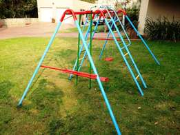 Jungle Gym with Swing and See-saw