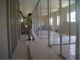 Pretoria drywalling partition Tiling cladding rhinolite skimming