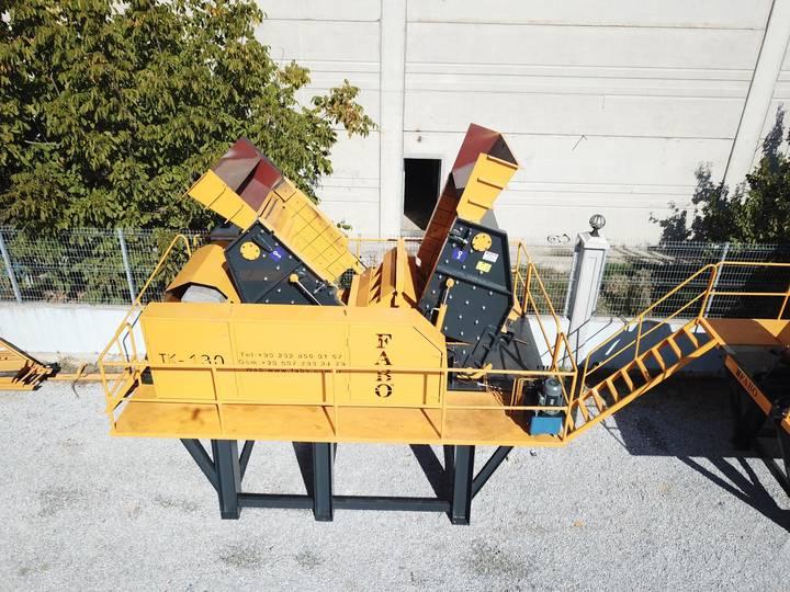 Fabo 200-300TPH SERIES TK-130 TERTIARY IMPACT CRUSHER   SAND MACHINE
