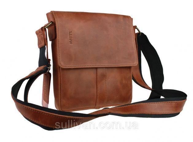 0d6d1bcbf5a2 Мужская кожаная сумка ручной работы фирмы Sullivan Чернигов - изображение 1