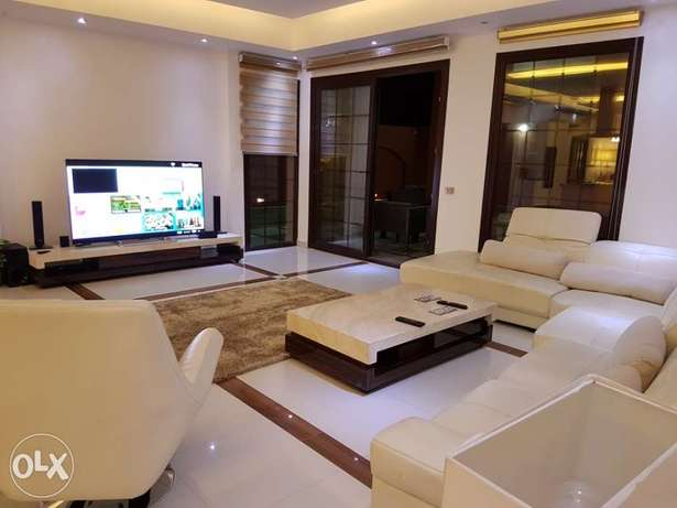 Duplex for rent furnished with swimming pool in Fifth Settlement