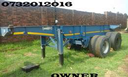 6 Meter skeletal trailer for sale