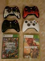 Xbox 360 special edition controlers wireless original Microsoft as br