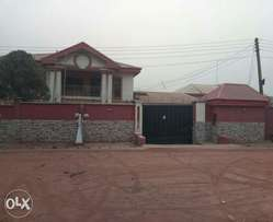 5bedroom en-suite duplex with BQ at Federal housing in Enugu.