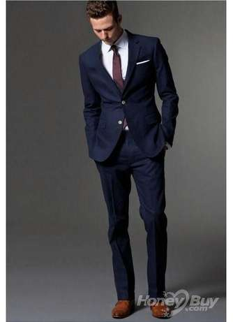 All shades of dark blue male suits. FREE DELIVERY. Nairobi CBD - image 1