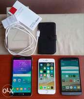 Like New iPhone 6, Samsung Note 4 and LG g3 for sale