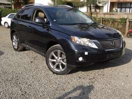 Lexus RX350 grey colour 2010 model fully loaded excellent condition