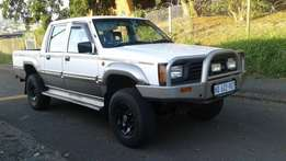 1996 mitsubshi Colt Rodeo 3000i V6 Double Cab 4 Wheel Drive