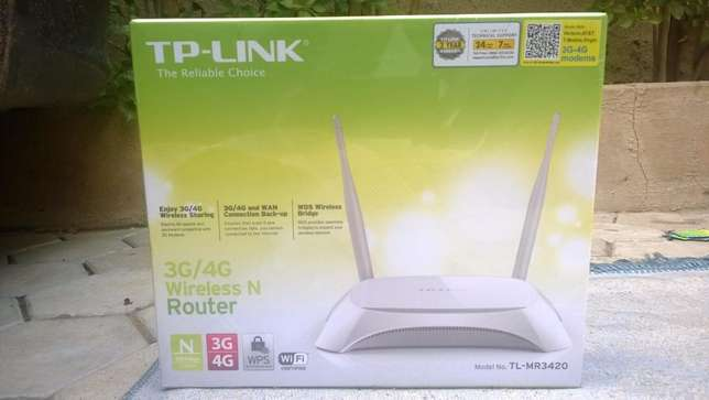 TP Link 3G/4G Wireless N Router Kano Municipal - image 1