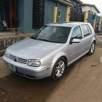Registered Volkswagen Golf 4 - 2001