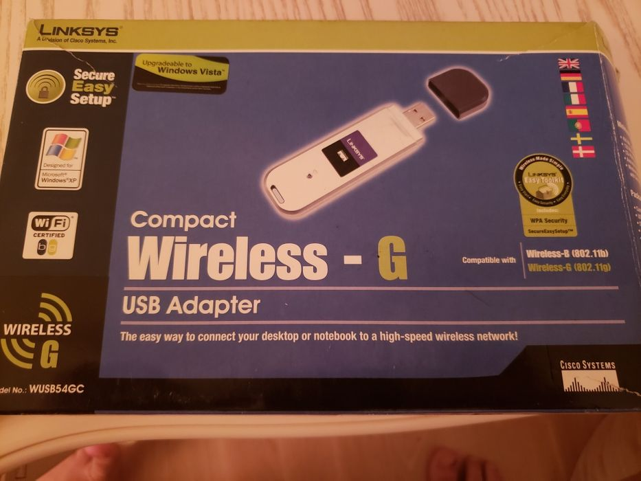 LINKSYS WIRELESS ADAPTER WUSB54GSC DRIVER DOWNLOAD