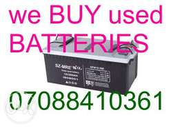 Sell Used inverter/solar Battery Batteries Uyo, Calabar, Portharcourt