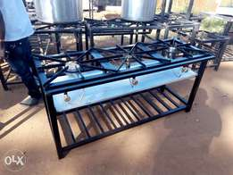 Gas cookers frame works
