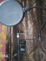 pop filter with micstand