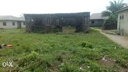 Dry Plot with 5bed Rooms Bungalow Up to linted at Fagbile Ijegun