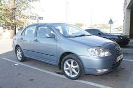 For Sale Toyota corrola 140i for Only R75000 Negotiable for more infor