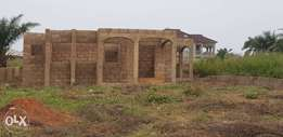 Uncompleted 3bedroom for sale