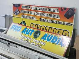 Sign board's 4 sale x6