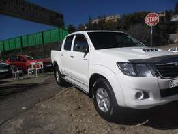 2011 White Toyota Hilux 3.0 D4D for sale