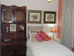 Short/Long Term Furnished, Serviced, Single Accommodation in tranquil