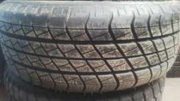 255/55/18 Goodyear tyres, 35,000