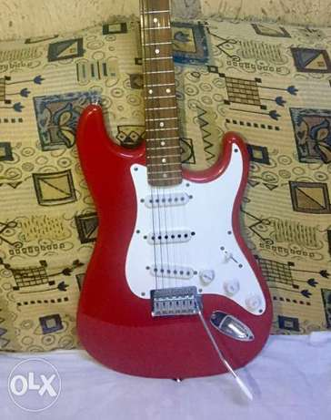 Guitar Fender squire جيتار إليكتريك