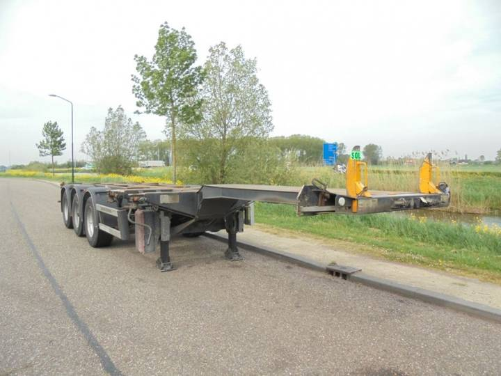 D-tec 3-axle Chassis / Extendable / Multi / Saf / Liftaxle / - 2007