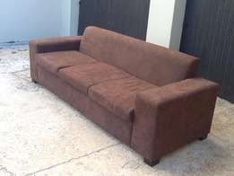 dark brown 3 seater couch