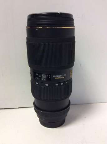 Sigma 70-200mm f2.8 Nikon Lens great for D3200, D5200, D7100 Nairobi CBD - image 1