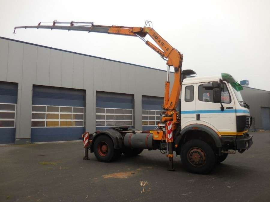 Mercedes-Benz 1735 V8 - 4x4 - Atlas 16 - 4 + 2, Kran Crane (german Truck Tuv) - 1990