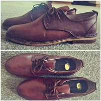 "Genuine leather shoes ""vellies"""
