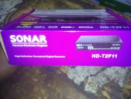 Sonar free to air settop boxes brand new