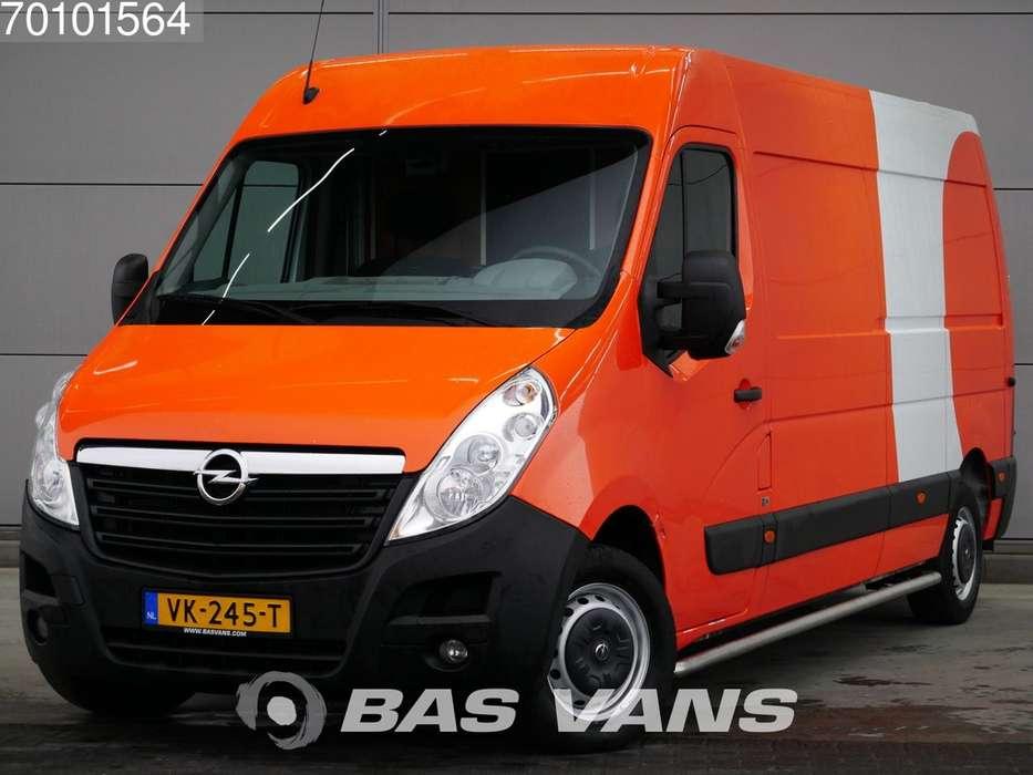 Opel Movano 2.3 DTI Lang Airco Koerier Inrichting L3H2 12m3 Ai... - 2014