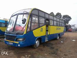 Clean Isuzu bus on sale.