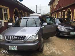 Very clean Nigerian used Lexus rx300 available for sale. 2002 model