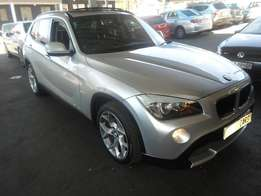 Automatic 2010 Silver BMW X1 S Drive 2.0d engine
