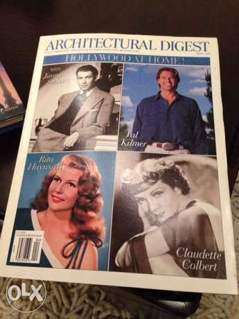 architecture magazines .books .Hollywood stars .collection