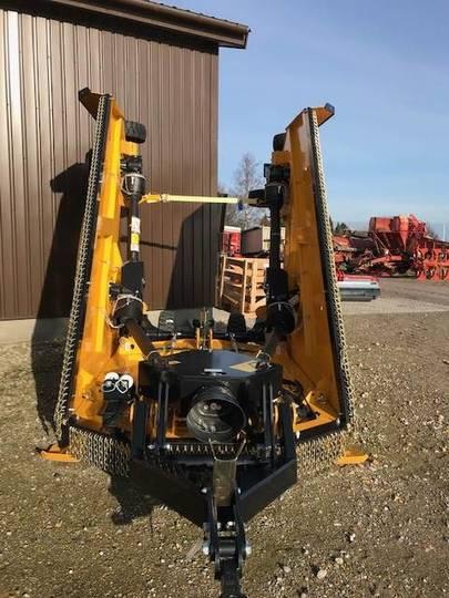 Mcconnel Sr 620 Multicut-5 Rotorer-hydr.opklap.