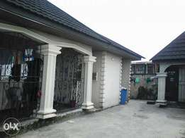 Bungalow off uti in warri for sale