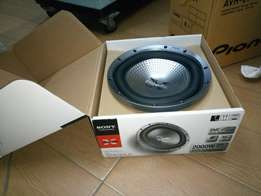 Sony Explode Gtr121ld car woofer 2000w