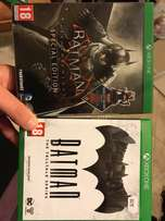 batman arkham knight and batman telltale 600 for both