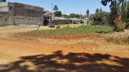 100x 100 for apartment at Kikuyu-Thogotto 500 meters from the tarmac.