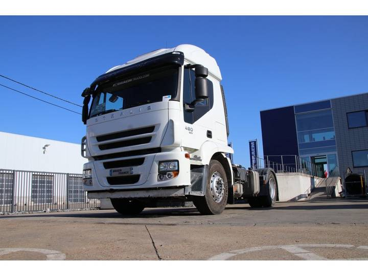 Iveco STRALIS 480+ Manual + Hydr. - 263.600 km ! - 2012