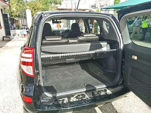 2010 model of Black Rav 4 with dark interior KCP number Mombasa Island - image 2